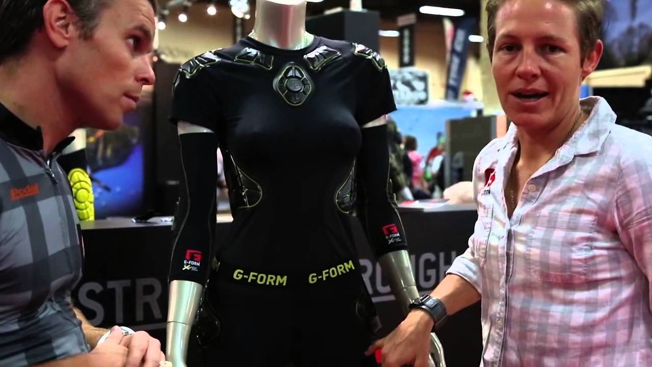 How to mountain bike pads G-Form 2 - Interbike 2015