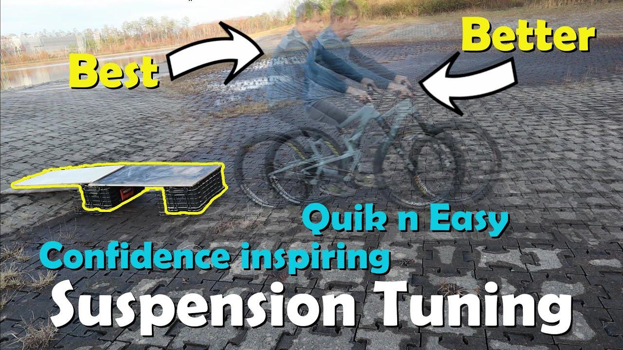 MTB Plan B - 2019 Santa Cruz Bronson MTB suspension Pt 2. Best tuning method to inspire confidence.