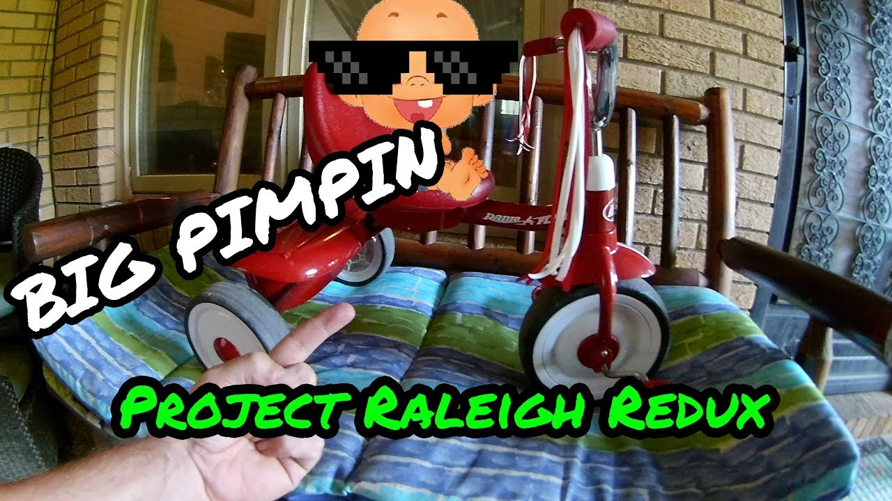 NOT FOR KIDS!!Project Raleigh Redux New Parts List and Thoughts 7 26 19