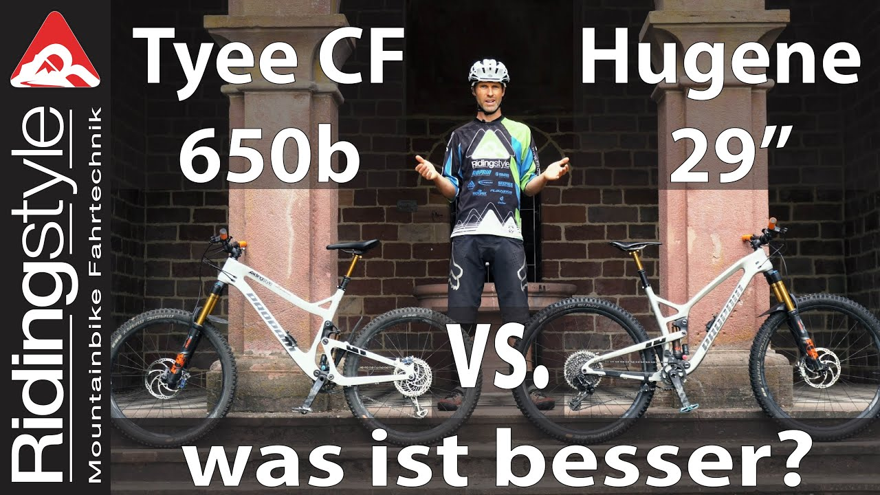 Propain Tyee CF 650b vs. Hugene CF 29"