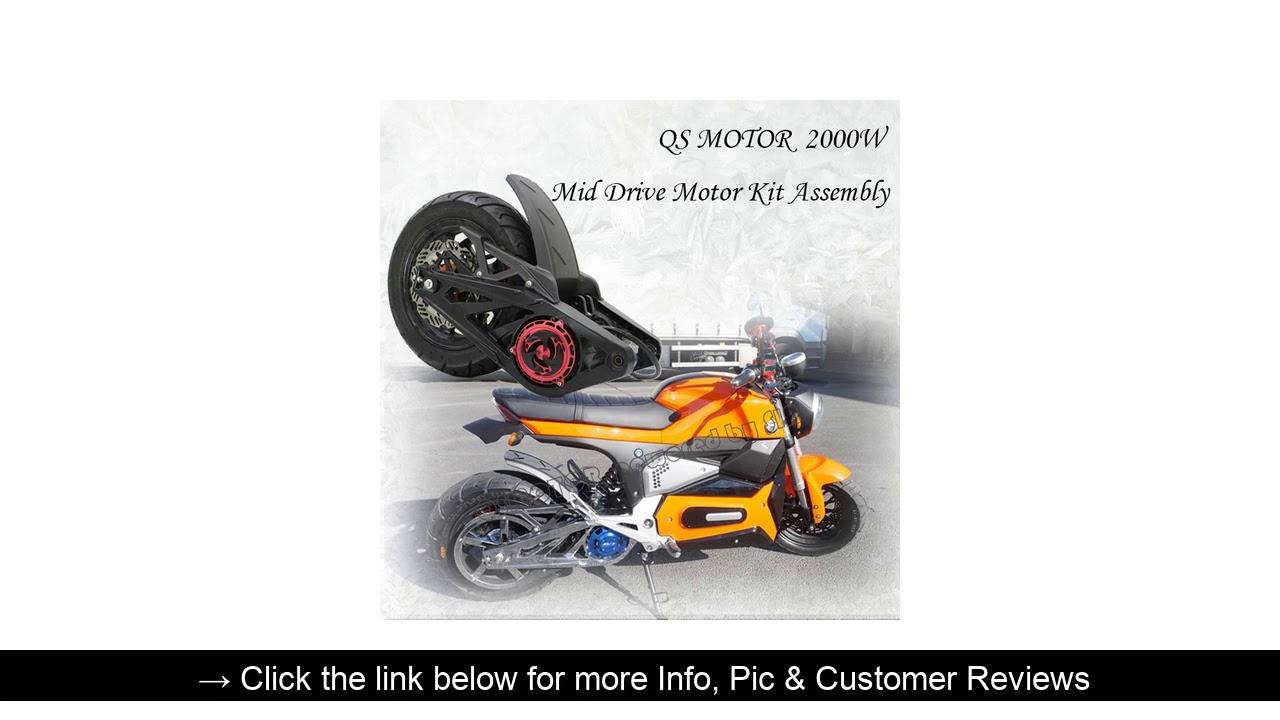 ☀️ QS 3000W 138 70H qsmotor electric bike motor mid drive kits Special Price