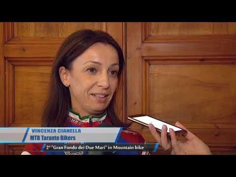 TARANTO | 2° Gran Fondo dei Due Mari in Mountain bike | TG Teleregione 07 09 2017