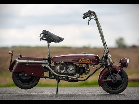 1949 Indian Papoose | The Classic and Antique Folding Motorcycle