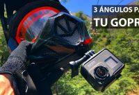 3 Monturas para tu GoPro Mientras Practicas Mountain Bike! Soporte Casero para Cámaras de Acción!
