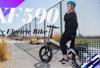All Terrains 20inch 750Watt Folding Electric Bike Cyrusher XF590