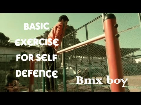 Basic tranings for self defence|| Bmx Boy