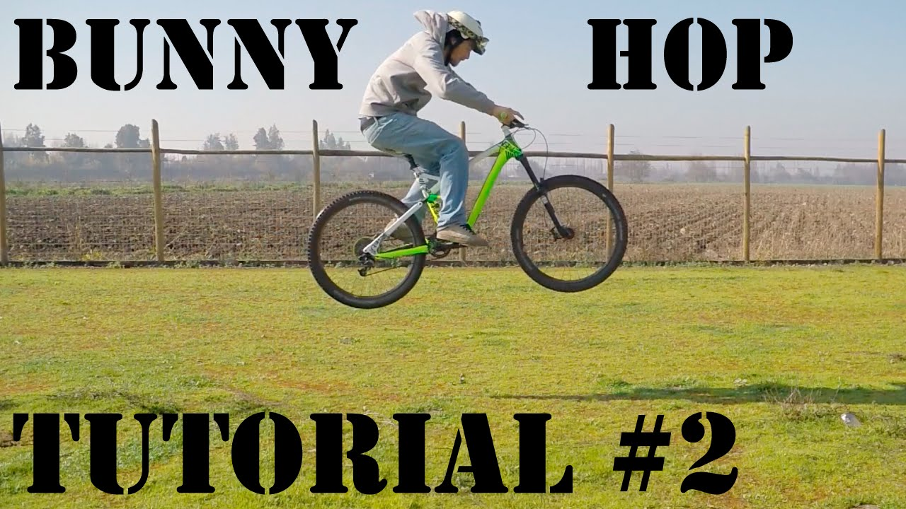 Cómo Hacer Bunny Hop con tu Bicicleta! Técnica Básica para Saltar en Mountain Bike!