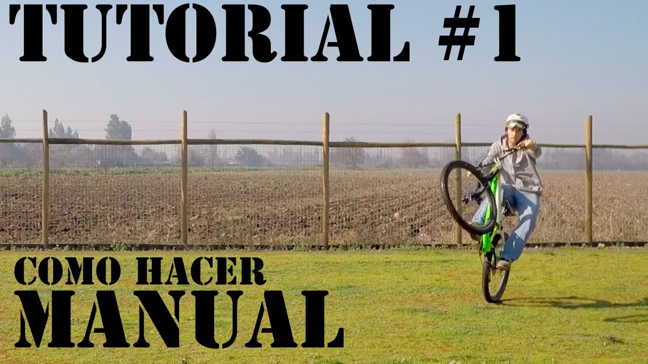 Cómo Hacer Manual en Bicicleta! Trucos Básicos de Mountain Bike!