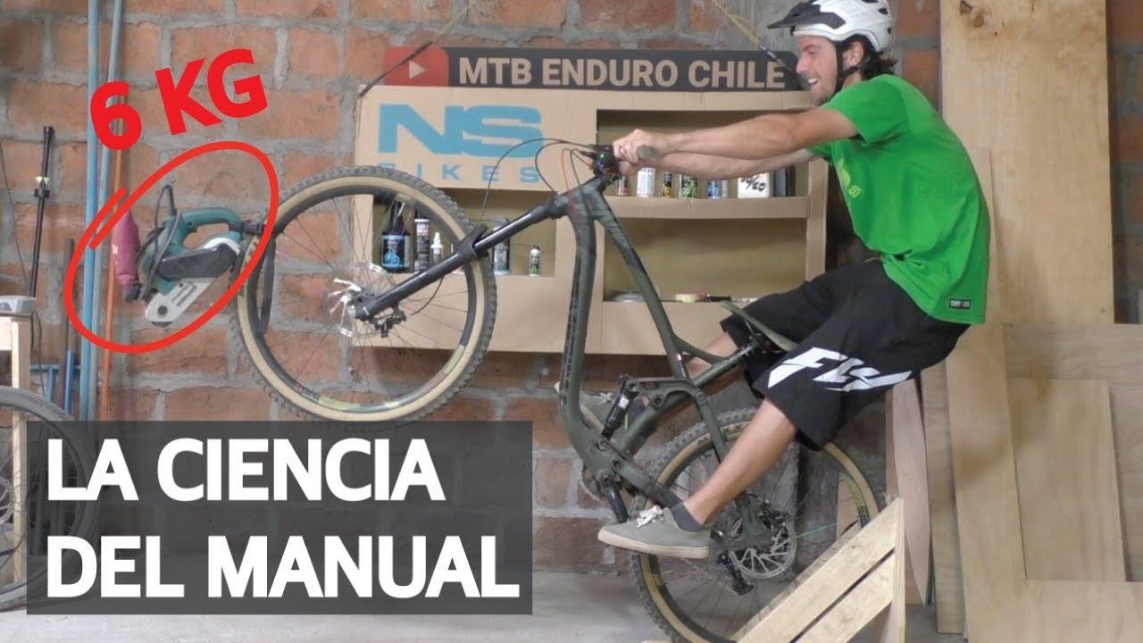 Cómo Hacer Manual en tu Bicicleta Usando el Manual Machine! Técnica Básica de Mountain Bike!