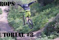 Cómo Saltar un Drop o Cortado en tu Mountain Bike! Técnica de Bicicleta!