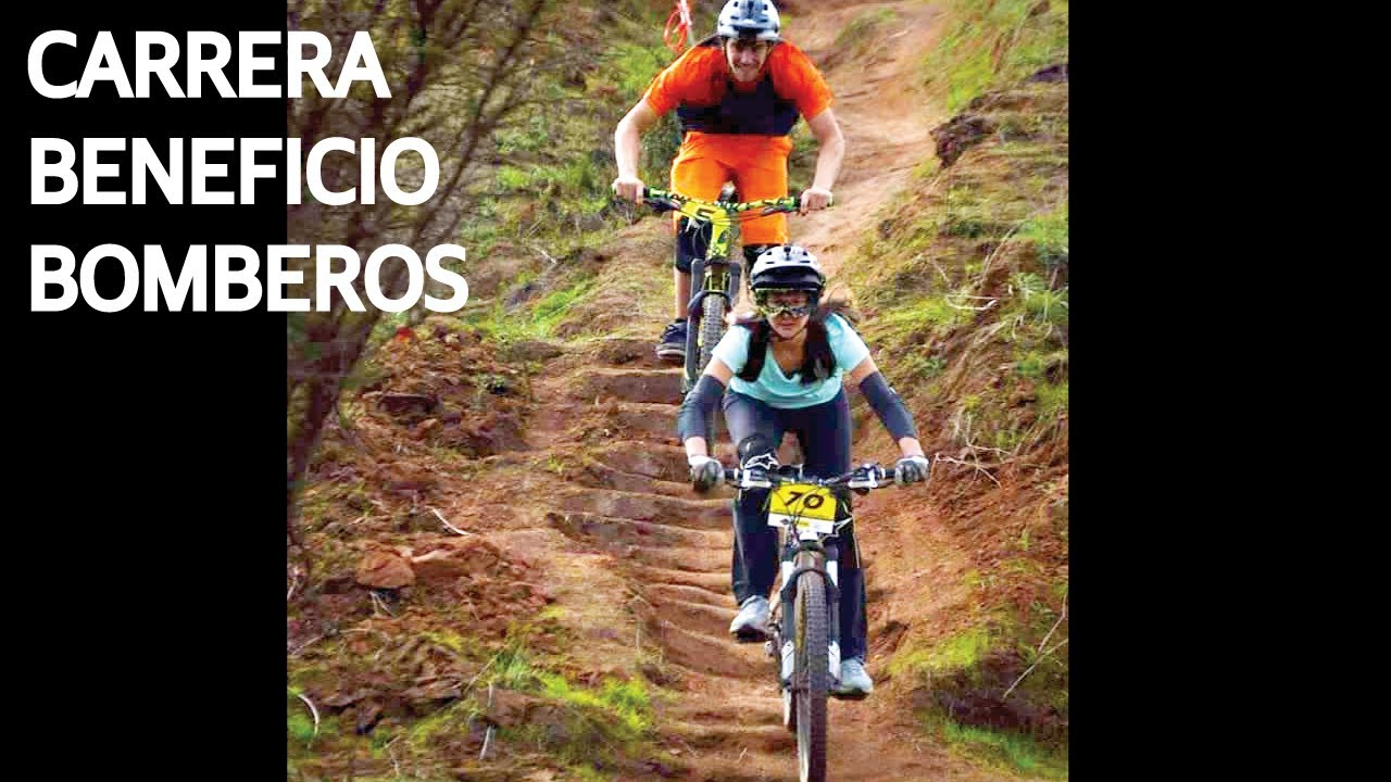 Carrera de Mountain Bike a Beneficio de Bomberos! Entrenando en Bicicleta!