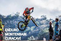 Dejándolo Todo Arriba de la Bicicleta en la Carrera del Mountain Bike Enduro Curacaví!