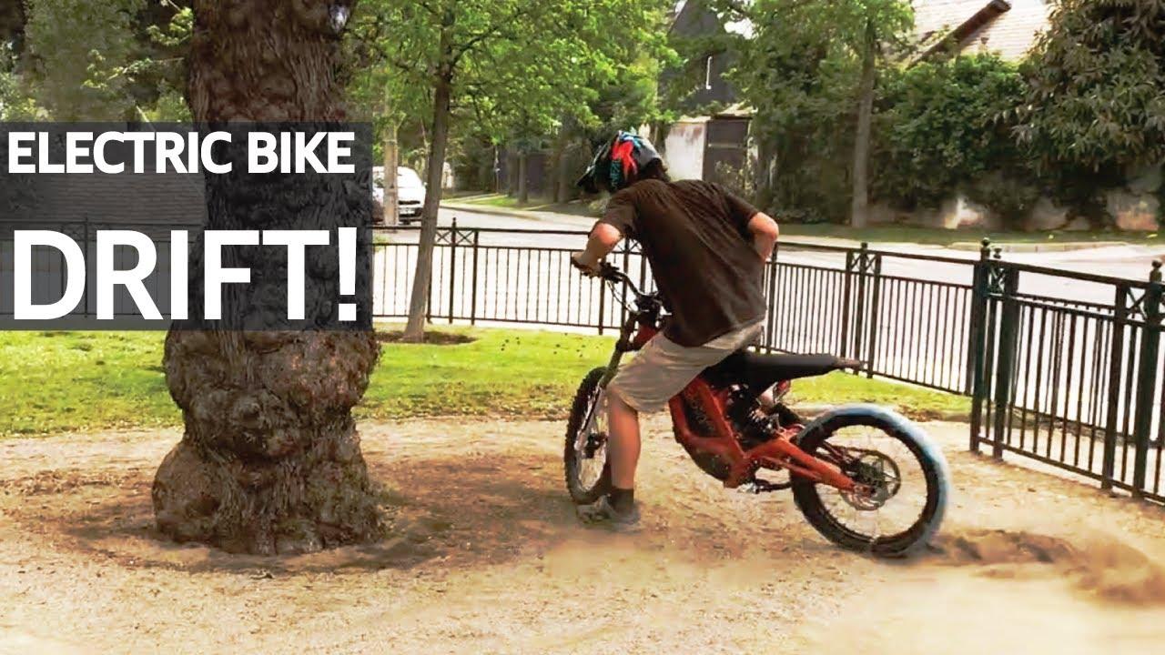 Drift con una Bicicleta Eléctrica y la Sur-Ron Electric Bike! Fat Bike y Dora la Exploradora!