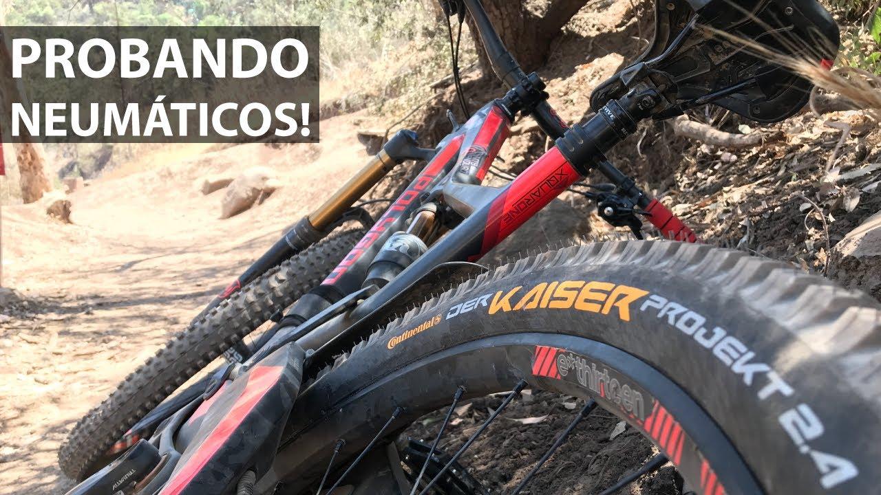 Dudoso Test de Cubiertas para Mountain Bike! Neumáticos Continental Der Kaiser!