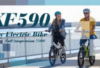 Enjoy the Ride with Coolest Folding Electric Bike Cyruher XF590