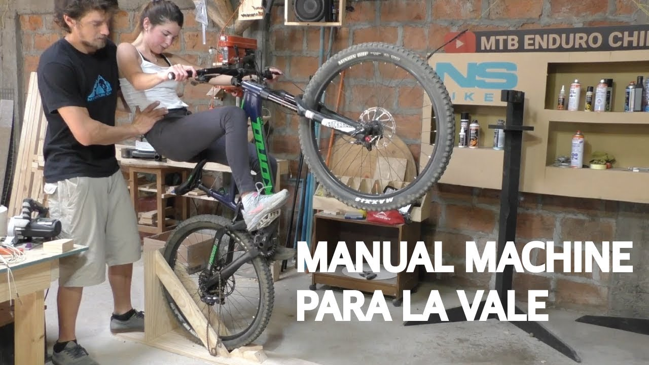 Manual Machine para Mountain Bike! Construcción, Test y Review con la Vale!
