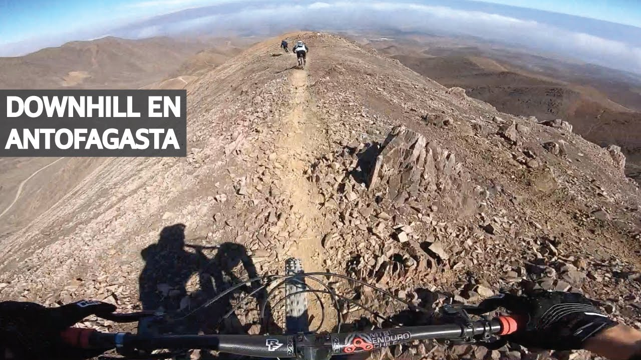 Mountain Bike Downhill en Antofagasta! Senderos Alucinantes en Chile!