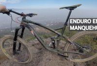 Mountain Bike Enduro Viviendo en Santiago! Bicicleta en el Cerro Manquehue!