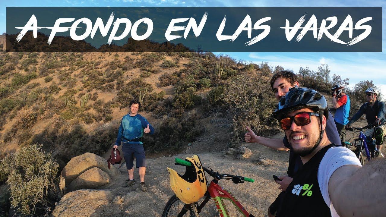 Mountain Bike Enduro en Las Varas - Rockgardens y Decensos Rápidos
