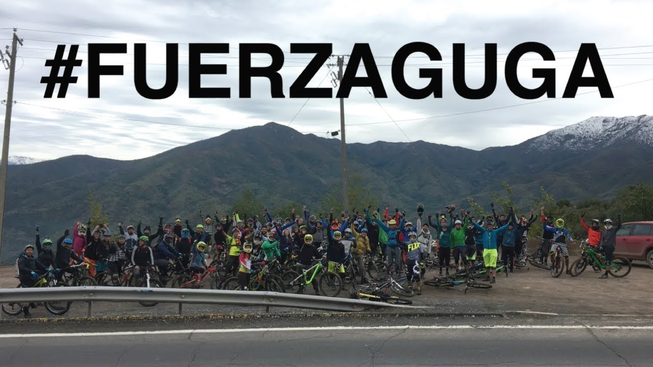 Mountain Bike Enduro en Rancagua! #fuerzaguga!