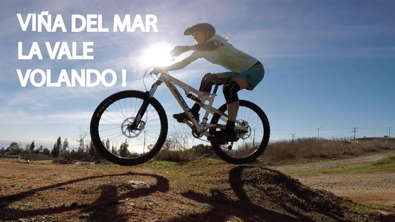 Mountain Bike Enduro en Viña del Mar! Un Pequeño Salto para la Valentina!