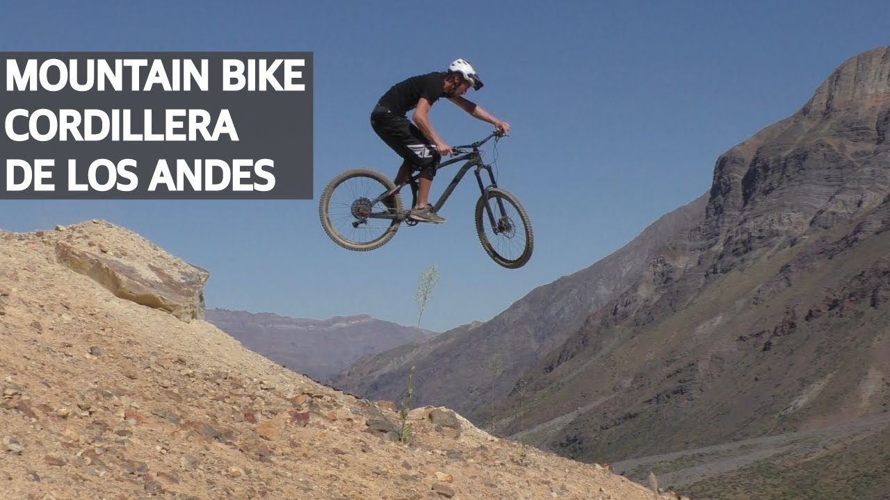 Mountain Bike Freeride, Trail Building y Saltos en la Cordillera de los Andes!