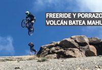 Mountain Bike Freeride en Argentina, Caídas en Chile y Descontrol en el Volcán Batea Mahuida!