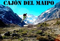 Mountain Bike Freeride en el Cajón del Maipo, Chile!