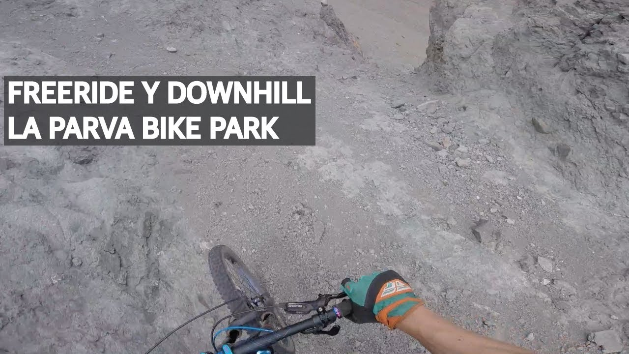 Mountain Bike Freeride y Downhill en el Bike Park La Parva!