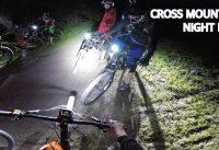 Mountain Bike Night Ride Cross Mountain en el Manquehue! Bajando con Luces de Noche en Bicicleta!