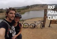 Mountain Bike en el Bike Park Aguas Claras con la Valentina!