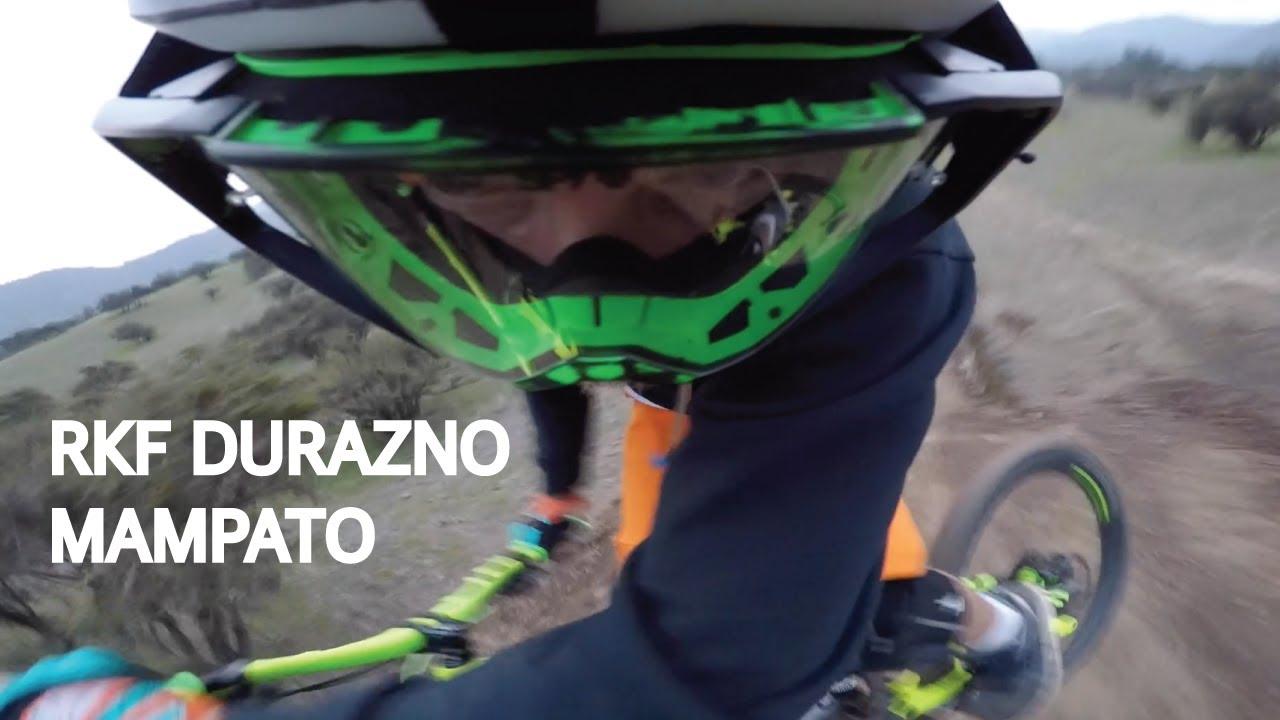 Mountain Bike en el Bike Park El Durazno! Pista de Saltos Mampato Mejorada!