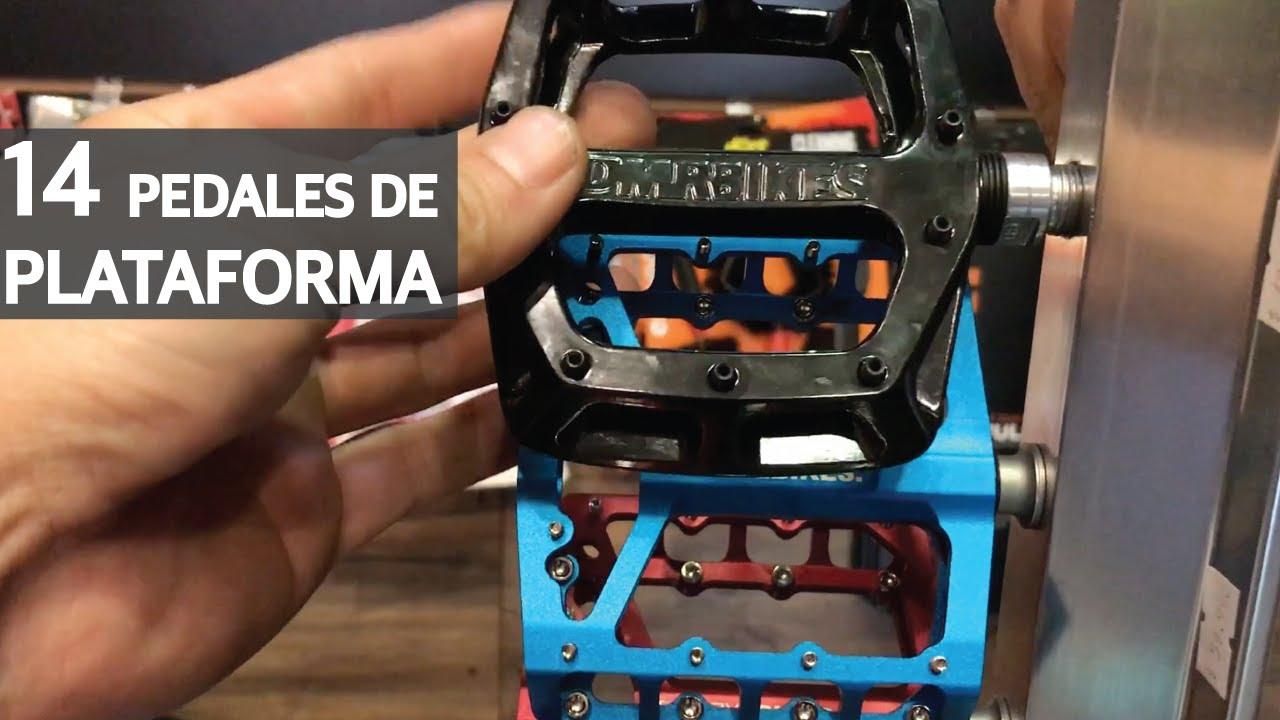 Pedales de Plataforma para tu Bicicleta de Enduro - Mountain Bike con Platform Pedals!