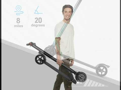 RND Electric Scooter for Adults Folding Commuting Scooter 8 Mile Long Range with Explosion Proof Tir