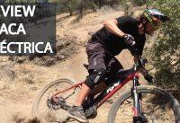 Review Bicicleta Eléctrica Rígida! Mountain Bike Enduro con la Flaca Eléctrica en el Manquehue!