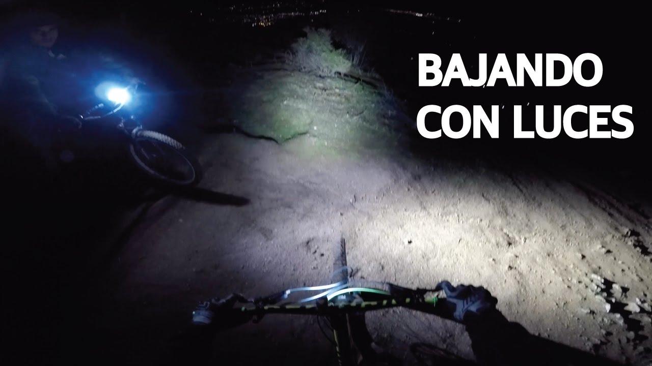 Saltos Nuevos y Night Ride en Las Viñas! Mountain Bike de Noche!