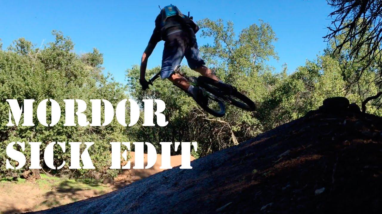 Saltos de Mountain Bike en Mordor! Sick Edit RAW!