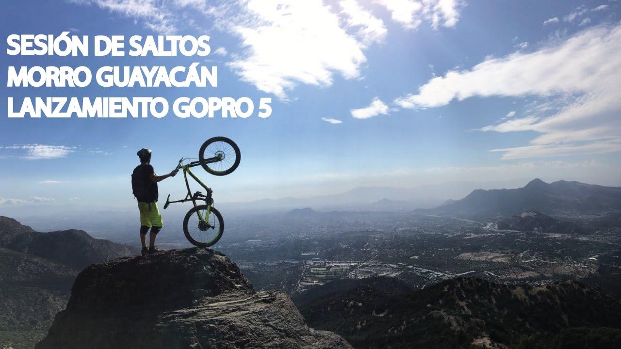 Saltos y Mountain Bike Enduro en Las Varas!