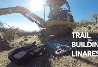 Trail building! Construyendo el Primer Sendero de Mountain Bike del Proyecto en Talca!