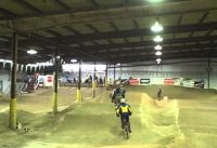 USA bmx racing Steel Wheels indoor track