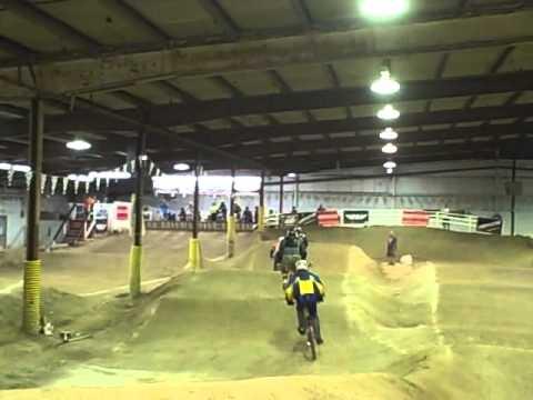 USA bmx racing Steel Wheels indoor track