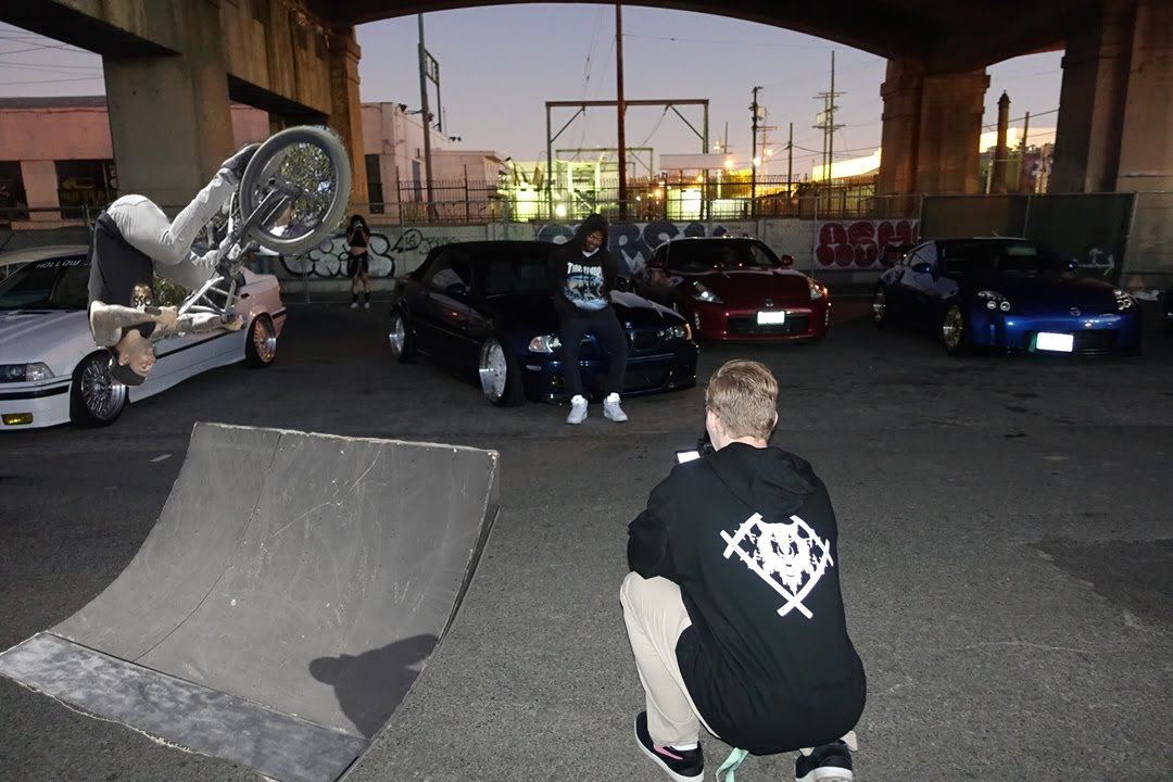 XAVIER WULF CAR MEET AND BMX JAM