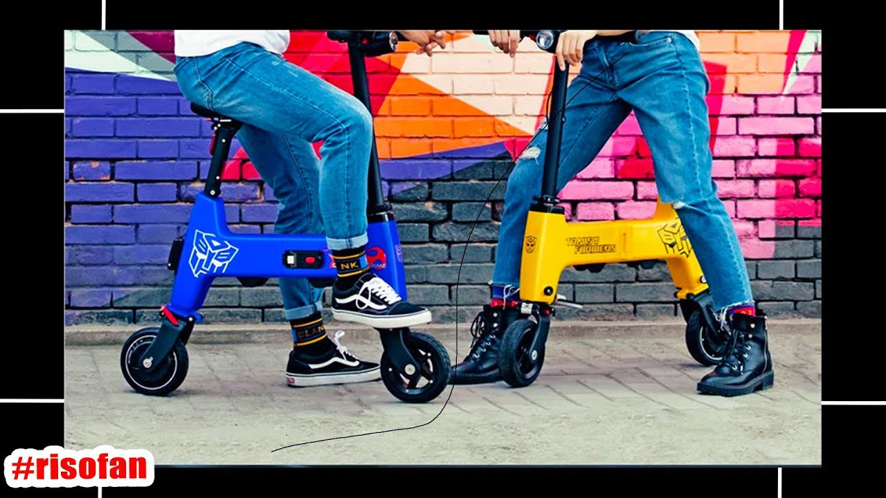 Xiaomi HIMO H1 Transformers Folding electric bike.