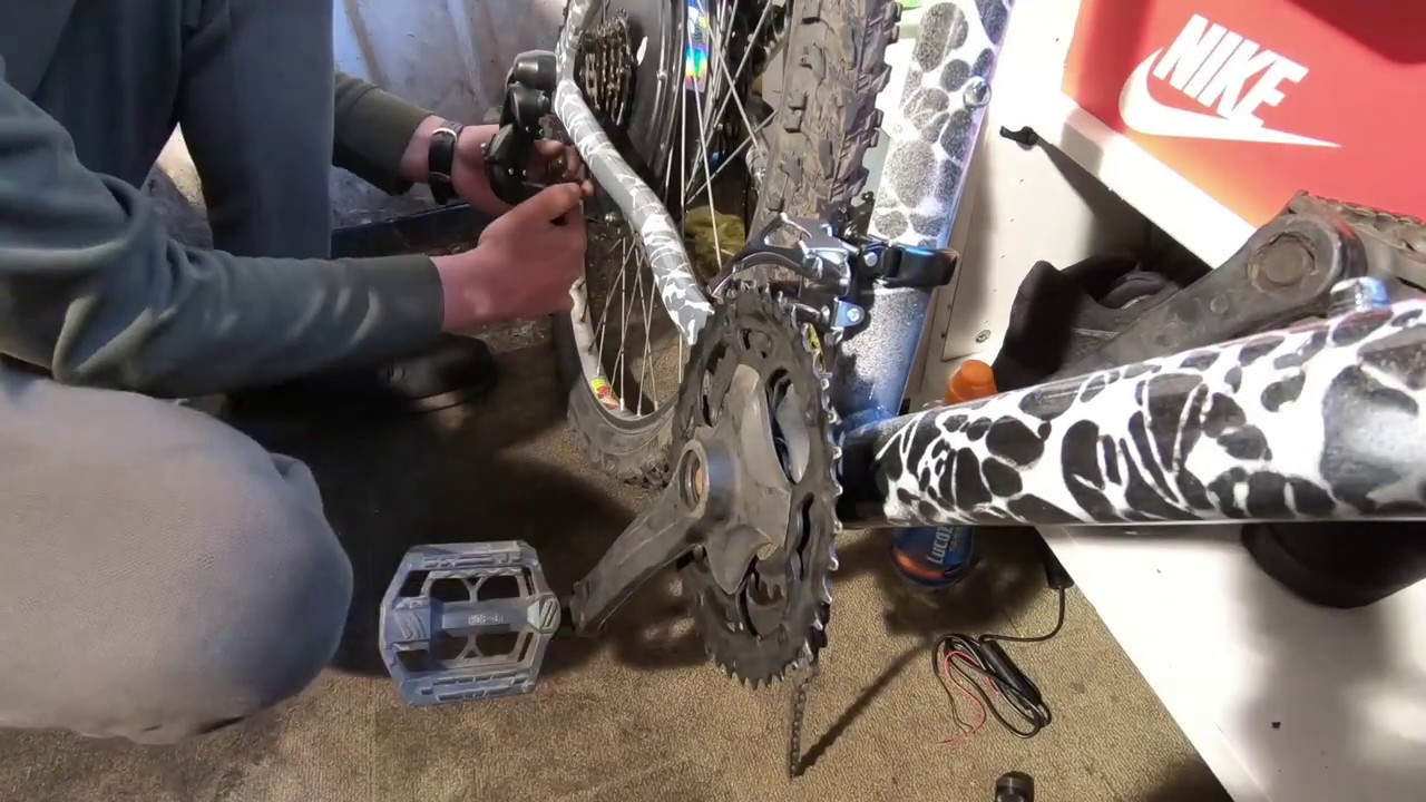 How to make an electric bike at home | DIY electric bicycle Part 5 - Ebike assembly