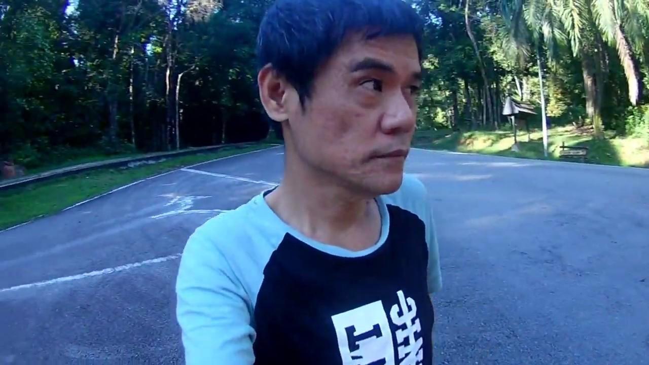 3 SIXTY folding bikeTaman Pertanian Malaysia 10km ride .(BROMPTON)