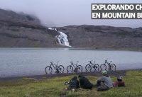 Bicicleta al Hombro! Mountain Bike Enduro Entre Cascadas y Glaciares en Chile!