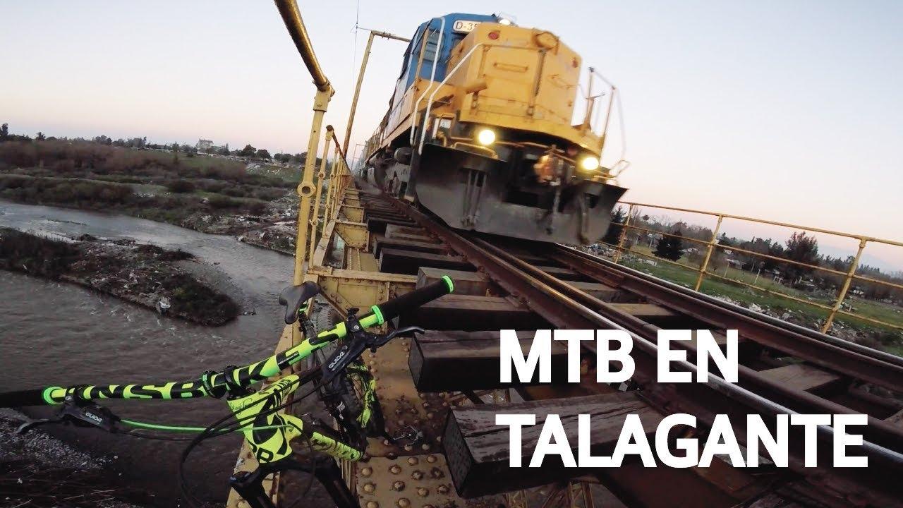 Bicicletas y Trenes en Talagante! Mountain Bike Enduro en Chile!