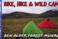 Bike, Hike & Wild Camping | Ben Alder Forest 4 Munros