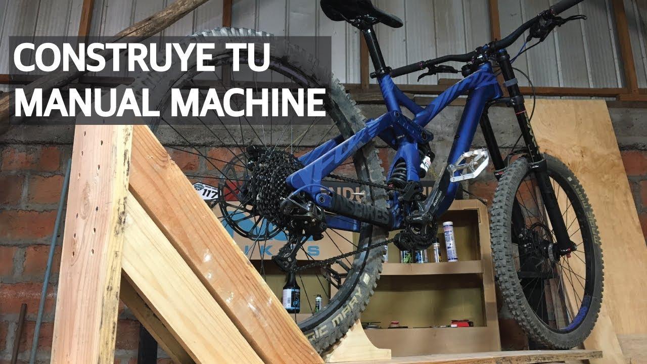 Cómo Construir un Manual Machine Liviano y Resistente para tu Mountain Bike!