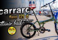 Carraro Flexi 121 D Katlanır Bisiklet İnceleme | 2020 | Folding Bike